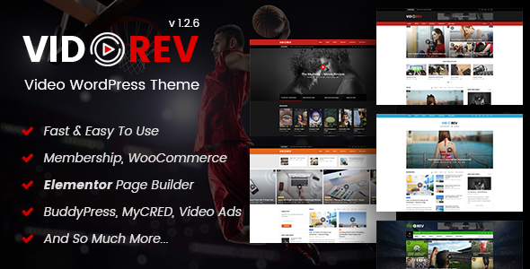 VidoRev v1 2 6 - Video WordPress Theme - vestathemes
