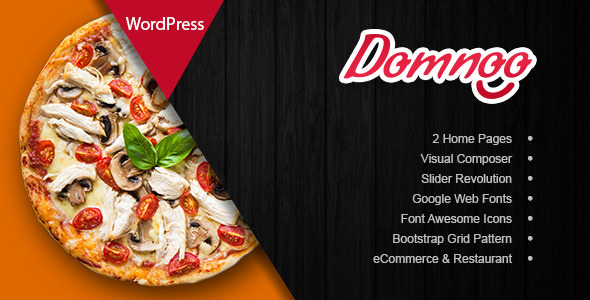 Domnoo V1 2 0 Pizza Restaurant WordPress Theme