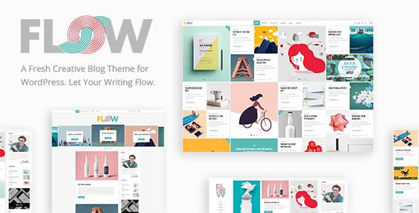 Flow v1 6 1 - Creative Blog Theme - vestathemes - Download