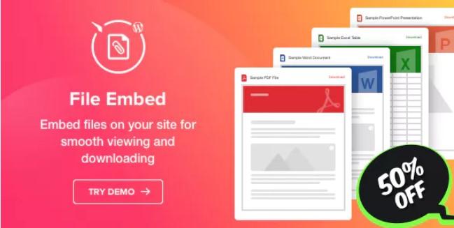 PDF Embed-A Premium WordPress PDF Viewer plugin