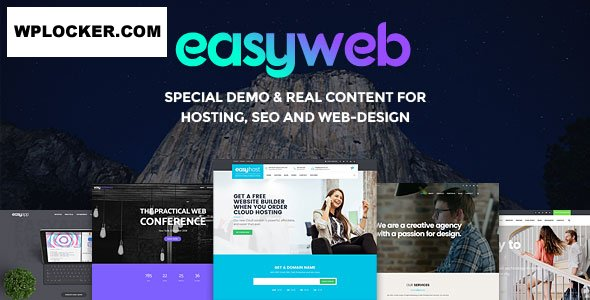 Easyweb V2 4 2 Wp Theme For Hosting Seo And Web Design Vestathemes Download Free Premium Nulled Wordpress Themes Plugins